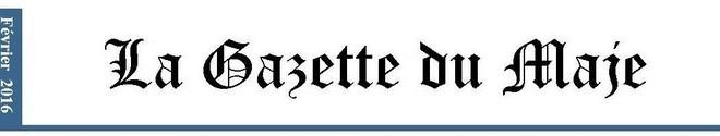Gazette du MAJE n°2 – Février 2016