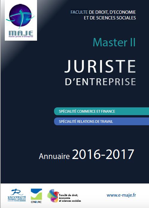 Annuaire MAJE 2016-2017