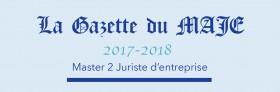 Gazette du MAJE n°10 – Avril 2018