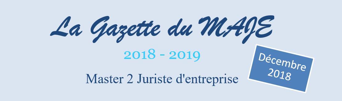 En-tête Gazette 2018